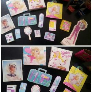Vintage Barbie Mixed Card Board Accessories